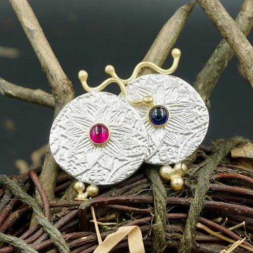 Nancy Fiore Necklaces w/18k Gold & Gemstones