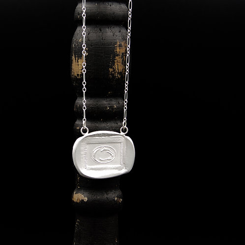 Penn State - Lion Medallion Necklace - Rectangle