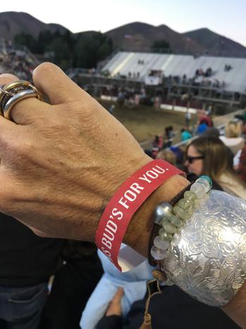 Patterned silver Fiore cuff bracelet