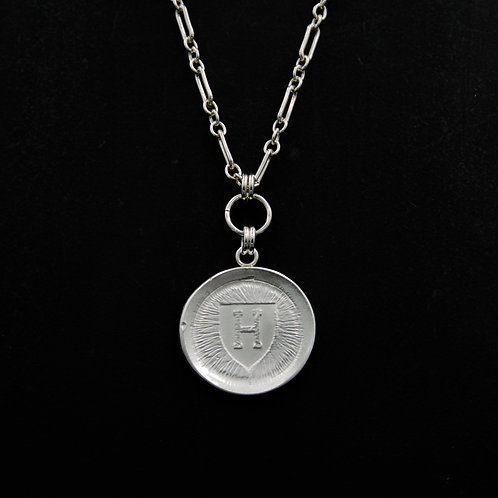 Harvard - Medallion Necklace LG - 2 Designs