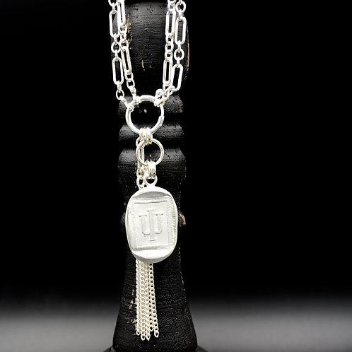 Indiana - Tassel Necklace - Rectangle