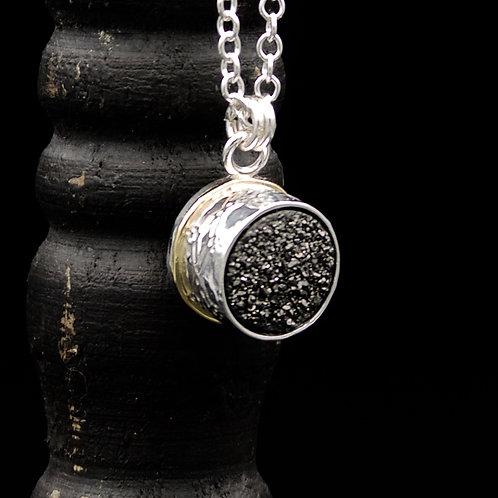 Druzy Quartz Notte Necklace