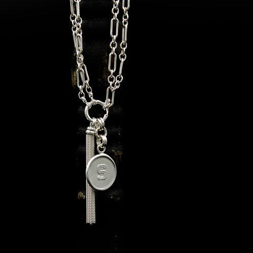 "Michigan State - ""S"" Tassel Necklaces SM - 2 Designs"