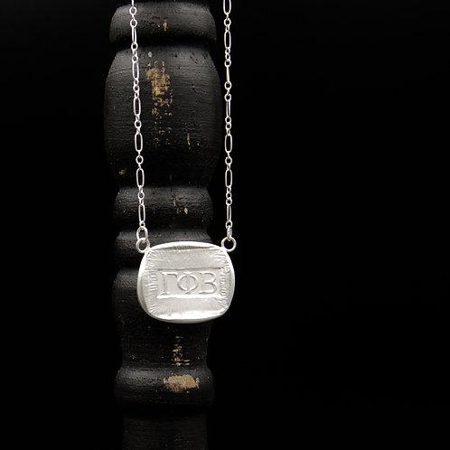 Gamma Phi Beta Token Necklace