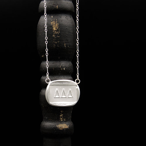 Delta Delta Delta Token Necklace