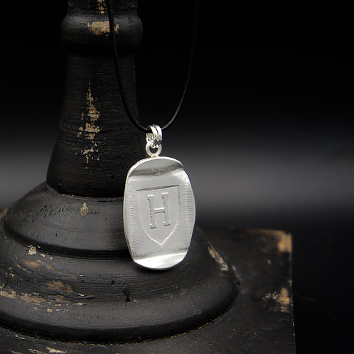 Harvard - Tag Necklace - Rectangle