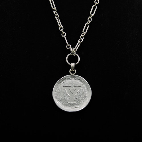 Yale - Medallion Necklace LG - 2 Designs