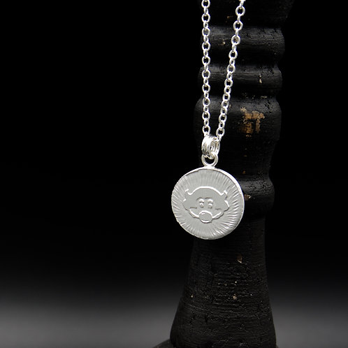 Colorado - Sterling Silver Chip Coin Necklace
