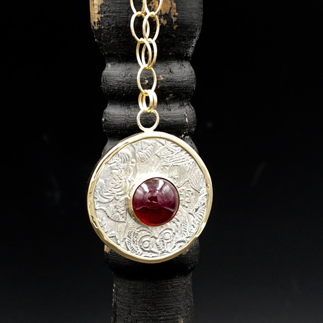 18k Gold Wrapped Fiore Necklace