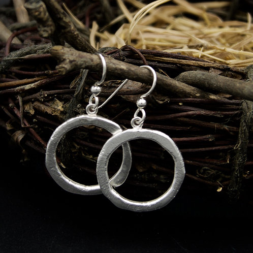 Everyday Earrings - Fine Silver
