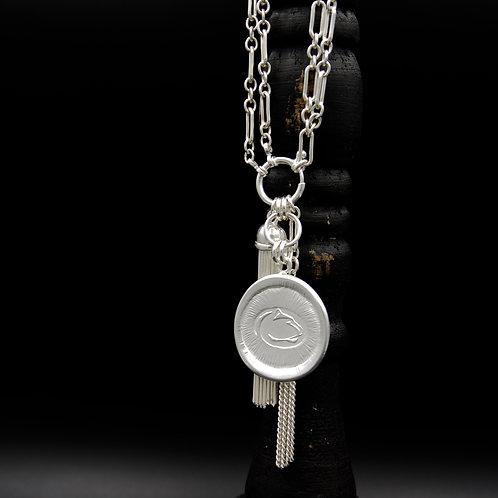 Penn State - Lion Tassel Necklace LG