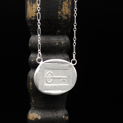 Kappa Kappa Gamma Key Token Necklace