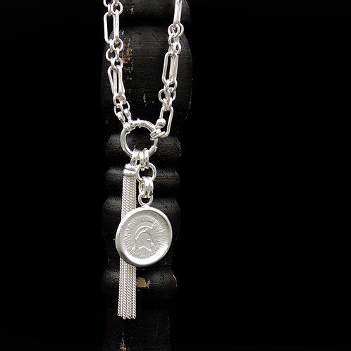Michigan State - Sparty Tassel Necklaces SM - 2 Designs