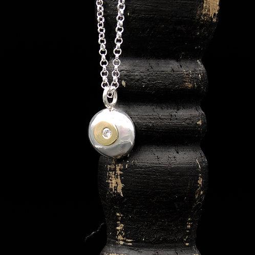 Ciottolo Diamond & 18k Gold Necklace