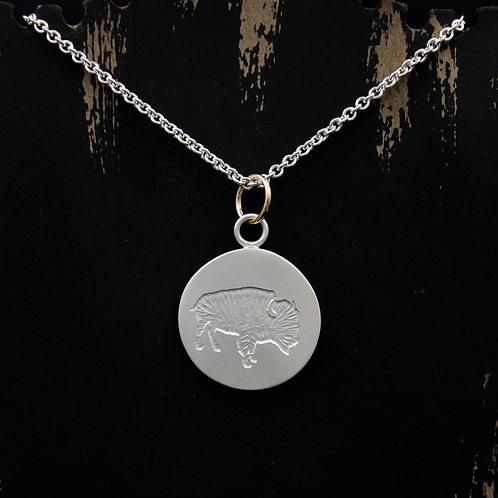 Colorado - Sterling Silver Buffalo Coin