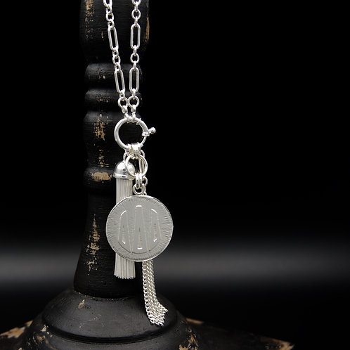 Delta Delta Delta Tassel Necklace (LG) - Wear short or long