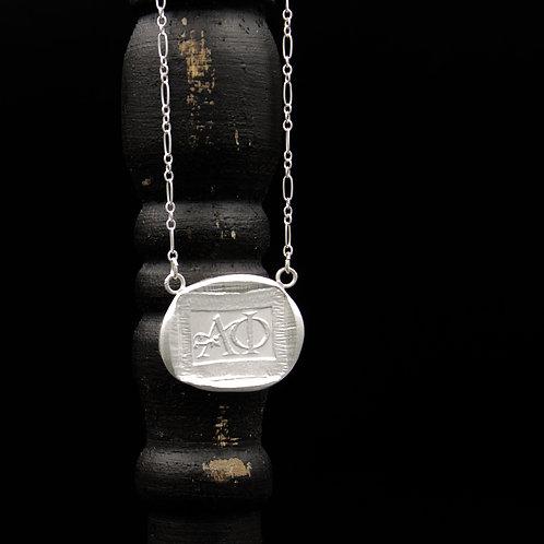 Alpha Phi Token Necklace