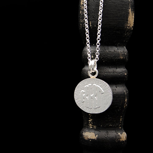 Kappa Kappa Gamma Coin Necklace - Sterling Silver