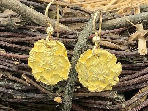 22k Gold Take Flight Earrings - Single