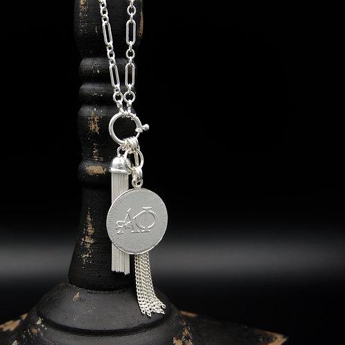 Alpha Phi Tassel Necklace (LG) - Wear short or long