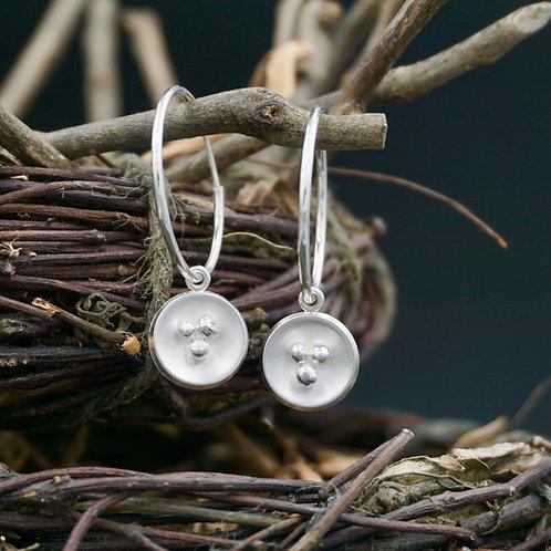 Palle Hoops - Silver