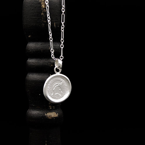 Michigan State - Sparty Medallion Necklaces SM - 2 Designs