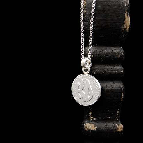 Kappa Delta Coin Necklace - Sterling Silver