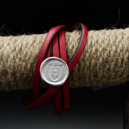 Harvard - Leather Wrap Bracelet