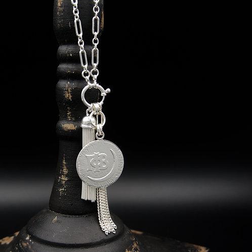 Gamma Phi Beta Tassel Necklace (LG) - Wear short or long