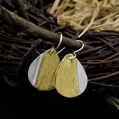 Falling Leaves Earrings - Teardrop