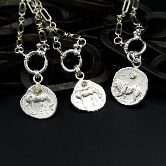 Ancient Coin Necklaces