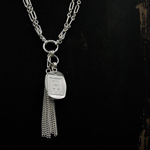 Harvard - Tassel Necklace - Rectangle