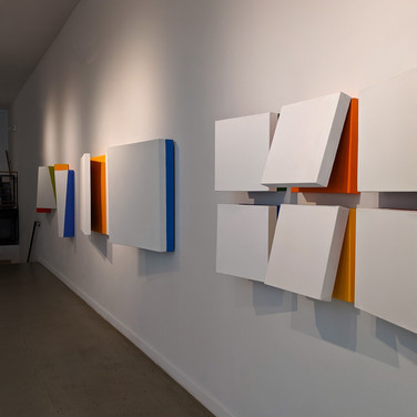Charles Hinman: Chromatic Eclipse Installation View