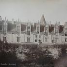 Séraphin-Médéric Mieusement (1840- 1905)  Château de Josselin, circa 1880s   albumen print mounted on bookboard, inscribed, stamped  10.5 x 17 inches