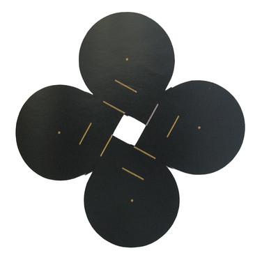 Will Insley [1929-2011] Sun 64.4,1964 acrylic on masonite, 80 x 80 inches