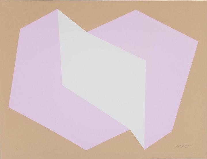 Charles Hinman - Lavender on Tan