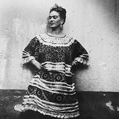 Leo Matiz (1917-1998) Frida Kahlo, Coyoàcan, Mexico photo 1943 [printed 1997 gelatin silver print, edition of 35, signed 17.25 x 13.25 inches