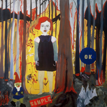 Wulf Treu  Sample  oil on canvas,  56 x 56 inches