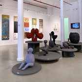 IN-TER-WO-VEN installation view