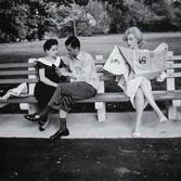 Sam Shaw (1912-1999)  Marilyn Monroe in Central Park, 1956, New York City, 1956