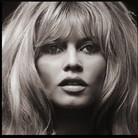 Douglas Kirkland  Brigitte Bardot  photo 1964 [printed later]  archival pigment print on watercolor paper, edition of 24, signed, numbered  paper size > 24 x 20 inches