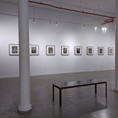 Lazhar Mansouri (1932-1985) Lifting the Veil: Portraits of Berber [Amazigh] Women  Installation View