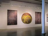 JAMES JUTHSTROM (1925-2007)  Paintings from the Loft  Allegory and Abstraction   Installation View WESTWOOD GALLERY NYC