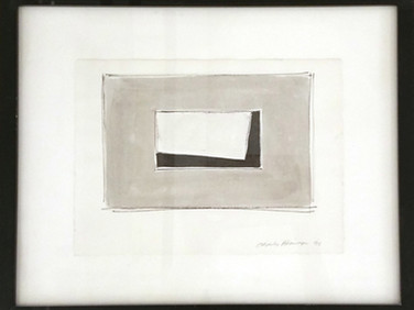 CHARLES HINMAN (b. 1932)  Untitled #3, 1996  ink on paper  10 x 7.25 inches