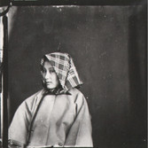 John Thomson (1837-1931)  Chinese Female Coiffure  photo 1896 [printed later]  gelatin silver print from the glass negative, edition of 350  16 x 20 inches, stamped