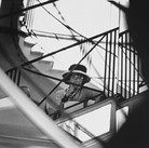 Douglas Kirkland  Mlle Chanel on the mirrored staircase, House of Chanel 1962 [printed later]  archival pigment print, edition of 24, signed  paper size > 20 x 24 inches