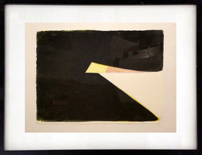 CHARLES HINMAN (b. 1932)  Untitled #7, 2003  acrylic wash on paper  11 x 15 inches