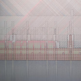 Detail of Will Insley, ONECITY Building Room, Section Red-Green Elevation, 1978-81