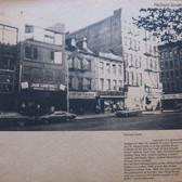 Richard Smith's studio building on the Bowery, 1971  Photograph by Eliot Elisofon