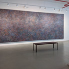 James Juthstrom (1925-2007) Expanded Universe, circa 1980s acrylic, mixed media, and reflective pigments on canvas 9 x 22.7 feet 108 x 272 inches